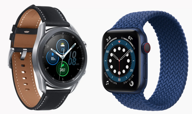 Apple Watch vs Samsung Galaxy Watch