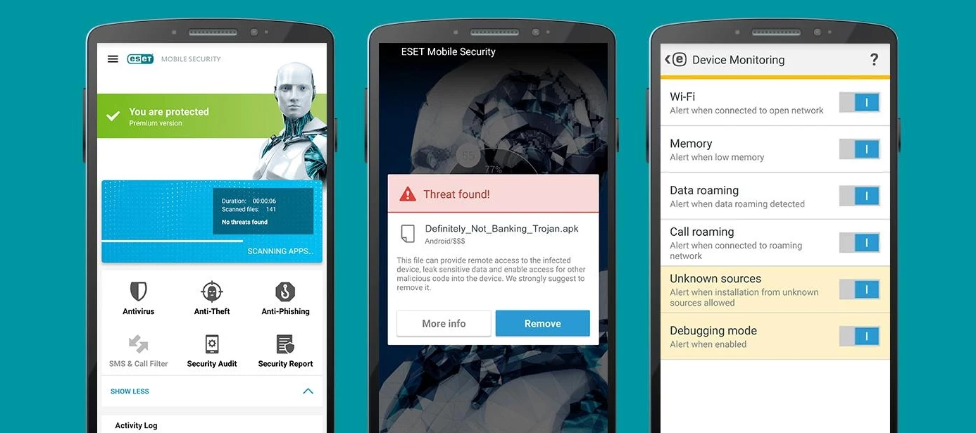 ESET Mobile Antivirus pre Android