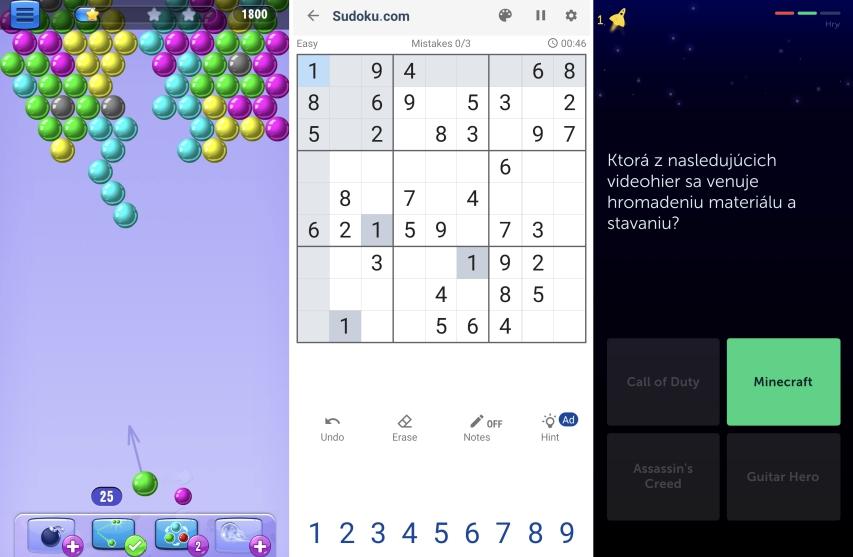 Sudoku na mobile