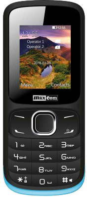 Vizualizácia MaxCom MM128
